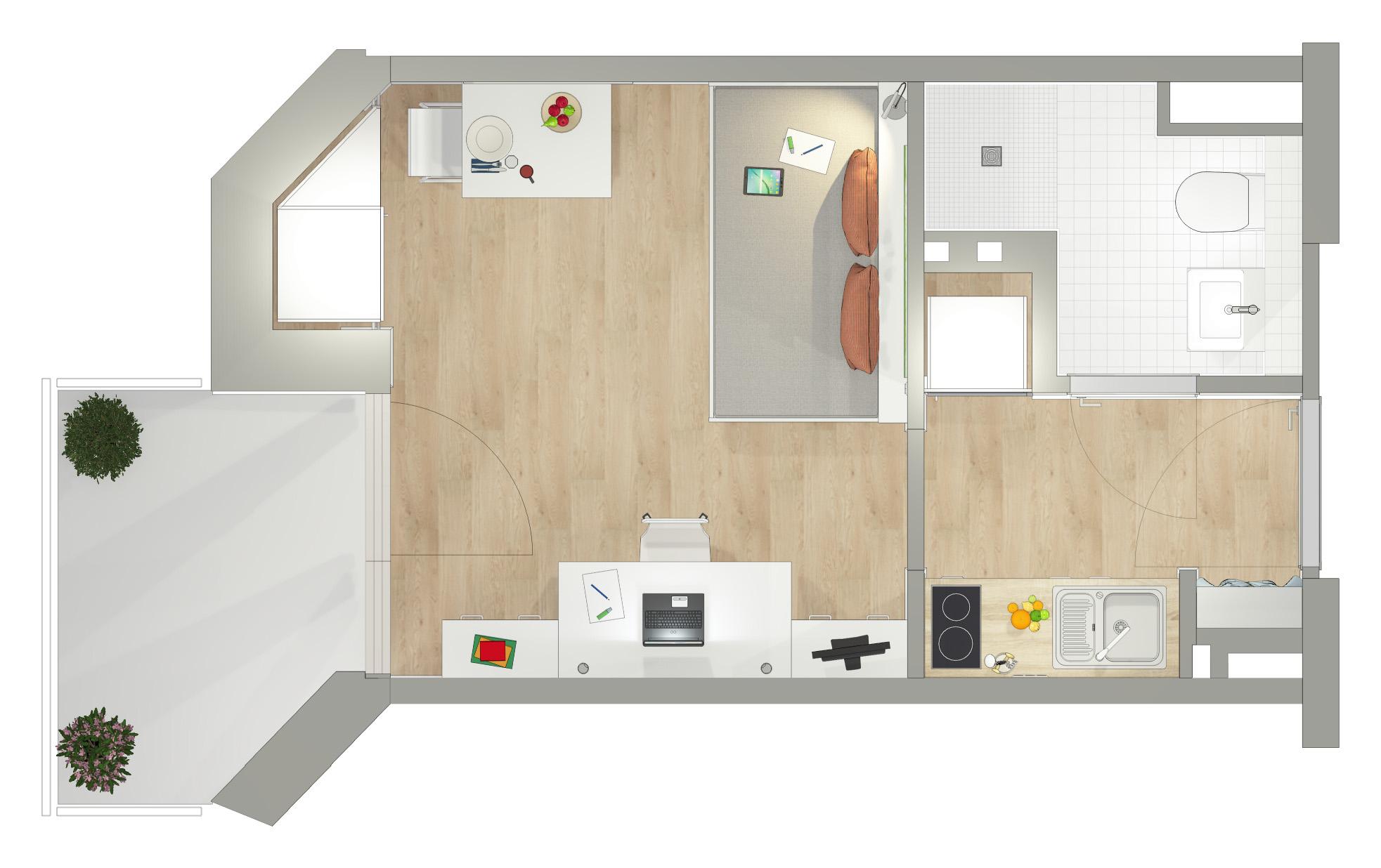 s dwink studenten apartments s dwink. Black Bedroom Furniture Sets. Home Design Ideas